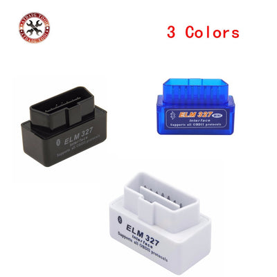 CHAUD!! OBD mini ELM327 Bluetooth OBD2 V2.1 Scanner automatique OBDII 2 voiture ELM 327 testeur outil de Diagnostic pour Android Windows Symbian - Beewik-Shop.com