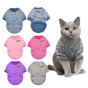 Chaud chat pull vêtements automne hiver Pet chien vêtements pour petits chiens chats Chihuahua carlin Yorkies chaton tenue chat manteau Costume - Beewik-Shop.com