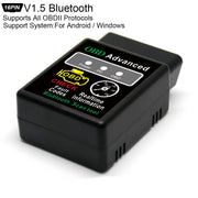 Le plus nouveau Scanner d'automotivo de Bluetooth d'elm327 V1.5 obd2 outil de Diagnostic automatique d'orme 327 OBD 2 escaner automotriz pour Windows d'android - Beewik-Shop.com