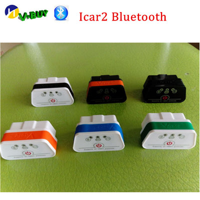 ELM327 OBD2 Bluetooth Vgate iCar2 Bluetooth nouveau niveau OBD2 connecteur OBD 2 outil de Diagnostic Support Android - Beewik-Shop.com