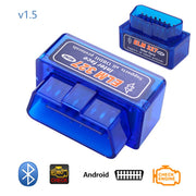 Outil de Diagnostic de voiture Dewtreetali OBD2 V1.5 Bluetooth Mini orme 327 V 1.5 OBD 2 Interface Scanner de Code automatique adaptateur OBDII Elm327 - Beewik-Shop.com