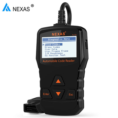 Nexas NL100 OBD2 Scanner de Diagnostic automatique Moteur OBDII Scanner automobile universel OBD 2 voiture scanner automatique PK ELM327 OBD (Black) - Beewik-Shop.com