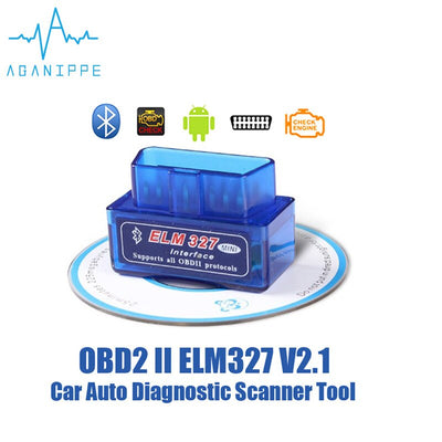 Eml327 V2.1 Bluetooth OBD 2 voiture Diagnostic-outil Support 7 protocoles OBDII outil de balayage intelligent ODB2 Scanner outil non adapté à LADA - Beewik-Shop.com