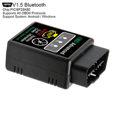 ELM327 V1.5 obd2 outil de Diagnostic automotivo auto Bluetooth Scanner orme 327 OBD 2 escaner automotriz vag com lecteur de Code de voiture - Beewik-Shop.com