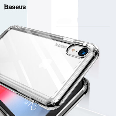 Baseus Luxus Telefon Fall Iphone Fall Xs Max Xr XSR Xsmax Fall weiche TPU Silikon zurück Fall transparente thermoplastische Polyurethan Fall für iPhone