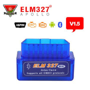 A + qualité Mini testeur OBD 2 Scanner de Diagnostic automatique le plus récent Original V1.5 Super Mini ELM327 OBD2 OBD II Bluetooth ELM 327 - Beewik-Shop.com