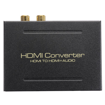 HDMI Audio Extractor Converter 5.1CH Audio Splitter 1080P Stereo Analog HDMI to HDMI Optical SPDIF RCA L/R Adapter Converters (<=0.5m) - Beewik-Shop.com
