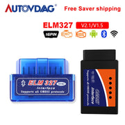 OBD 2 Super Mini orme 327 pour protocole OBDII Bluetooth OBD2 V2.1 WiFi V1.5 Scan elm327 outil de Diagnostic pour Android/IOS/Symbian - Beewik-Shop.com