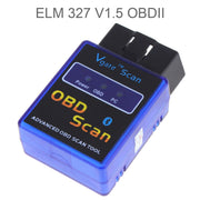 KONNWEI PIC18F2480 puce elm327 V1.5 obd2 Bluetooth voiture Scanner outil de Diagnostic automatique ELM 327 1.5V OBD 2 Scanner connecteur - Beewik-Shop.com