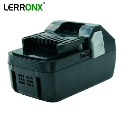 LERRONX 18 v 4.0Ah Li-ion rechargeable batterie pour Hitachi Power Tool BSL1830 BSL1840 DS18DSAL 330067 Remplacement Au Lithium bateria - Beewik-Shop.com