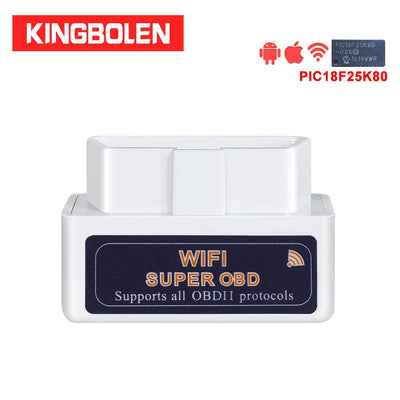 ELM327 WIFI avec puce PIC18F25K80 Super Mini V1.5 OBDII obd 2 outil de Diagnostic automatique iOS Android iPhone iPad ELM 327