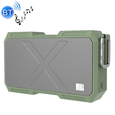 NILLKIN X-Man Portable Outdoor Sports Waterproof Bluetooth Speaker Stereo Wireless Sound Box Subwoofer Audio Receiver, For iPhone, Galaxy, Sony, Lenovo, HTC, Huawei, Google, LG, Xiaomi, other Smartphones(Green) - Beewik-Shop