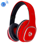 OVLENG S98 Bluetooth V2.1+EDR Wireless Stereo Noise Isolating Headset with Microphone, Support FM Radio & TF Card, For iPhone, Samsung, Huawei, Xiaomi, HTC and Other Smartphones, All Audio Devices(Red) - Beewik-Shop