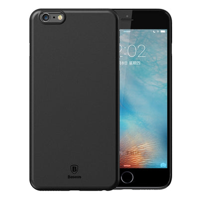 Baseus for iPhone 6 & 6s Ultra-Thin Full Coverage PP Material Protective Cover Case(Black) - Beewik-Shop.com