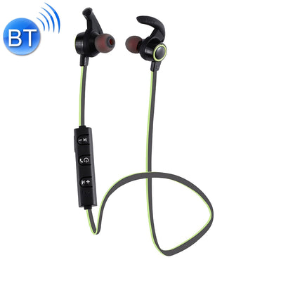 AMW-810 Bluetooth 4.1 Stereo Wireless In-ear Sports Earphone Headphone with Microphone, Bluetooth Distance: 10m, For iPhone & iPad & Android Smart Phones or Other Bluetooth Audio Devices(Green) - Beewik-Shop.com
