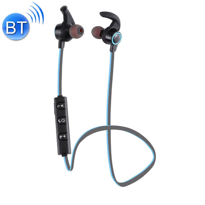 AMW-810 Bluetooth 4.1 Stereo Wireless In-ear Sports Earphone Headphone with Microphone, Bluetooth Distance: 10m, For iPhone & iPad & Android Smart Phones or Other Bluetooth Audio Devices(Blue) - Beewik-Shop.com