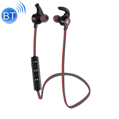 AMW-810 Bluetooth 4.1 Stereo Wireless In-ear Sports Earphone Headphone with Microphone, Bluetooth Distance: 10m, For iPhone & iPad & Android Smart Phones or Other Bluetooth Audio Devices(Red) - Beewik-Shop.com