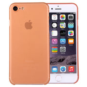 For  iPhone 8 & 7  Ultrathin Superlight Transparent PP Protective Case(Orange) - Beewik-Shop