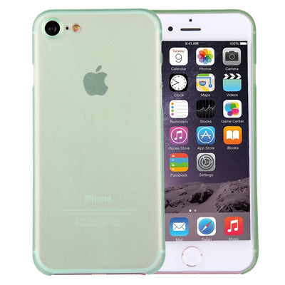 For  iPhone 8 & 7  Ultrathin Superlight Transparent PP Protective Case(Green) - Beewik-Shop