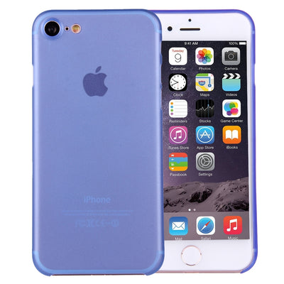 For  iPhone 8 & 7  Ultrathin Superlight Transparent PP Protective Case(Blue) - Beewik-Shop