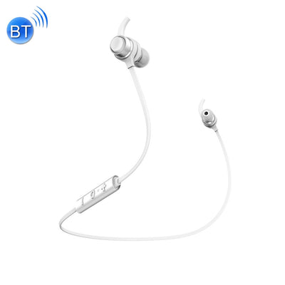 Baseus Wire Control Wireless Bluetooth 4.1 Earphone In-ear Headphone with Microphone , for iPhone, Galaxy, Sony, HTC, Huawei, Xiaomi, Lenovo and other Smartphones(White) - Beewik-Shop.com