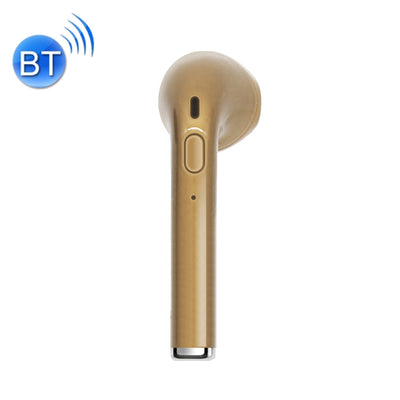 V2 Mini Wireless Bluetooth In-Ear Earphones with Button Control & Mic, Support Handfree Call, For iPhone, Samsung, HTC, Sony and other Smartphones(Gold) - Beewik-Shop.com