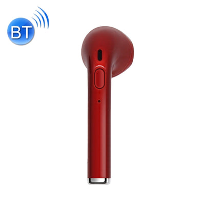 V2 Mini Wireless Bluetooth In-Ear Earphones with Button Control & Mic, Support Handfree Call, For iPhone, Samsung, HTC, Sony and other Smartphones(Red) - Beewik-Shop.com