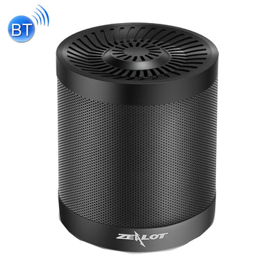 ZEALOT S5 Bluetooth 4.0 Wireless Wired Stereo Speaker Subwoofer Audio Receiver with 2000mAh Battery, Support 32GB Card, For iPhone, Galaxy, Sony, Lenovo, HTC, Huawei, Google, LG, Xiaomi, other Smartphones(Black) - Beewik-Shop
