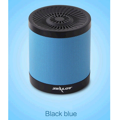 ZEALOT S5 Bluetooth 4.0 Wireless Wired Stereo Speaker Subwoofer Audio Receiver with 2000mAh Battery, Support 32GB Card, For iPhone, Galaxy, Sony, Lenovo, HTC, Huawei, Google, LG, Xiaomi, other Smartphones(Blue) - Beewik-Shop