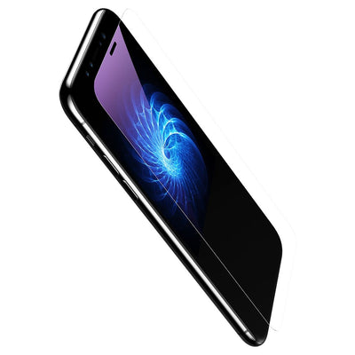 Baseus For iPhone X 9H Hardness Anti Blue-ray 0.3mm Transparent Slim Tempered Glass Film(Transparent) - Beewik-Shop.com