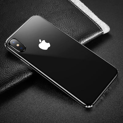 Baseus for iPhone X Dropproof Soft TPU Protective Back Cover Case (Transparent) - Beewik-Shop.com