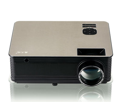 M5 3000 Lumens LED Projector - 5.8 Inch LCD Panel, 2000_1 Contrast Ratio, 1920x1080 DPI Resolution