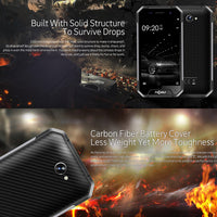 NOMU S30 Mini Android Phone - Quad-Core CPU, 3GB RAM, IP68 Waterproof, Android 7.0, HD Display, Dual-IMEI, 4G, 3000mAh (Silver) - Beewik-Shop.com