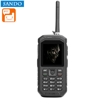Solid phone,Intercom ,function -IP68 waterproof, FM radio, 0.3 MP camera, flashlight, 2500 mAh battery, 2.4 inch (Black) - Beewik-Shop.com