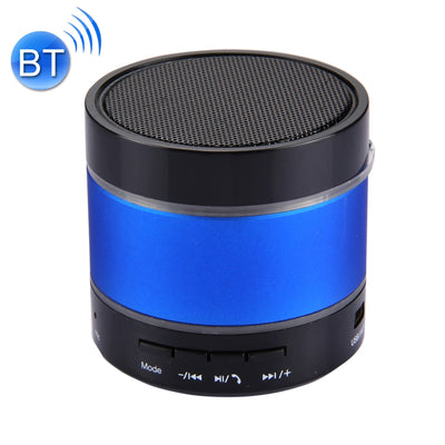 YX-S09U Multifunctional Mini Card Music Playback Bluetooth Speaker , with Color Light, Support Handfree Call & TF Card & U-disk & AUX Audio & FM Function & Earphone Out(Blue) - Beewik-Shop.com