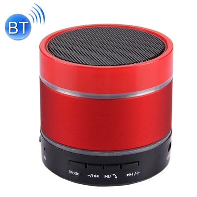 YX-S09U Multifunctional Mini Card Music Playback Bluetooth Speaker , with Color Light, Support Handfree Call & TF Card & U-disk & AUX Audio & FM Function & Earphone Out(Red) - Beewik-Shop.com