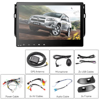 Autoradio Multimédia 2 DIN Toyota RAV4 - Ecran tactile 10,2 pouces, processeur Octa Core, système d'exploitation Android, navigation GPS, Bluetooth, prise en charge de Dongle 3G - Beewik-Shop.com
