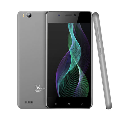 V5 3G Smartphone - Android 6.0 OS, Quad Core CPU 4.0-Inch Display, 1500mAh Battery, Front & Rear Camera (Gray) - Beewik-Shop.com