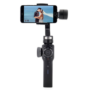 Zhiyun Smooth 4 Smartphone Handheld Gimbal - 3-Axis, Portable Stabilizer for iPhone, Android Phone, Gopro Action Camera