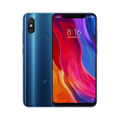 Preorder Xiaomi 8 Smartphone - 6.21Inch AMOLED Screen, Octa Core, 6GB RAM, Dual GPS, Fingerprint, NFC (Blue)
