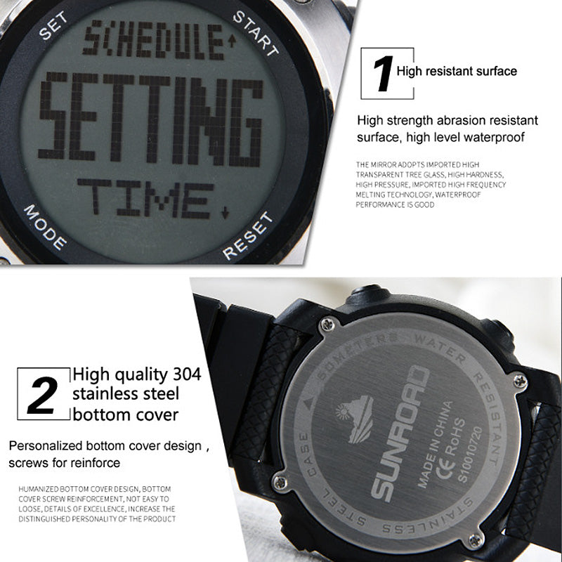 Sunroad FR1001 Outdoor Watch - Barometer 023d4f7fe5cf