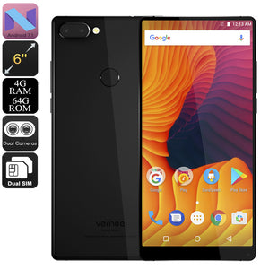 Vernee Mix 2 Android-Handy (schwarz) - Beewik-Shop.com
