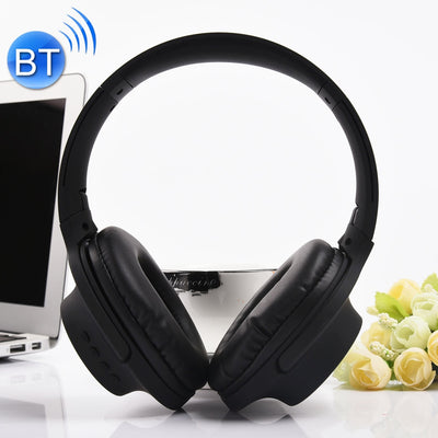 MDR100 Headband Folding Stereo Wireless Bluetooth Headphone Headset, Support 3.5mm Audio Input & Hands-free Call, For iPhone, iPad, iPod, Samsung, HTC, Xiaomi and other Audio Devices(Black) - Beewik-Shop.com