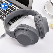 MDR100 Headband Folding Stereo Wireless Bluetooth Headphone Headset, Support 3.5mm Audio Input & Hands-free Call, For iPhone, iPad, iPod, Samsung, HTC, Xiaomi and other Audio Devices(Grey) - Beewik-Shop.com