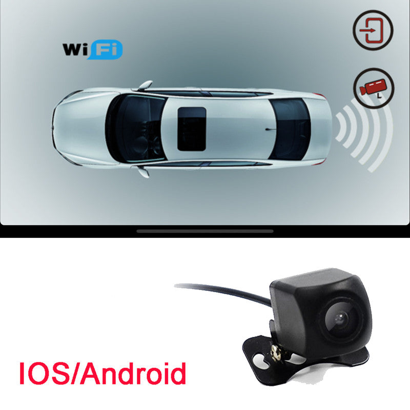 WiFi Rear View Parking Camera - HD Video, iOS and Android APP Support, 10m  Night Vision, IP66 Waterproof