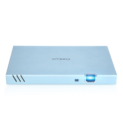 DLP Projector Coolux X6S-250 Lumen, 1GRAM+16G ROM, Dual band wifi, Bluetooth4.0 - Beewik-Shop
