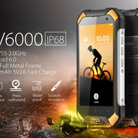 Blackview BV6000 Android 6.0 Smartphone - IP68,2Ghz Octa Core CPU   (Noir) - Beewik-Shop.com