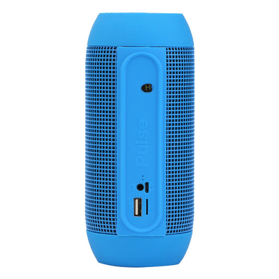 Pulse Portable Bluetooth Streaming Mini Speaker with Built-in LED Light Show & Mic, For iPhone, Galaxy, Sony, Lenovo, HTC, Huawei, Google, LG, Xiaomi, other Smartphones(Blue)