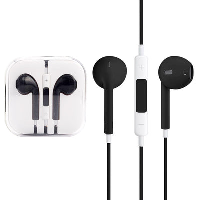 High Quality EarPods with Remote and Mic for iPhone 6 & 6 Plus, iPhone 5 & 5S & 5C, iPhone 4 & 4S, iPad / iPod touch, iPod Nano / Classic(Black) - Beewik-Shop.com