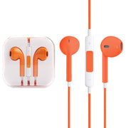 High Quality EarPods with Remote and Mic for iPhone 6 & 6 Plus, iPhone 5 & 5S & 5C, iPhone 4 & 4S, iPad / iPod touch, iPod Nano / Classic(Orange) - Beewik-Shop.com
